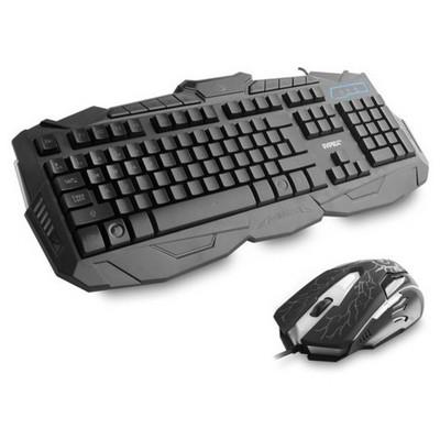 Everest KM-810 Usb Oyuncu Q  + Mouse Set Klavye