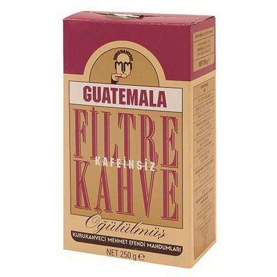 Mehmet Efendi Kurukahveci Guatemala Filtre  250 G Kahve