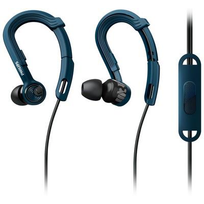 Philips Shq3405bl/00 Actionfit Mikrofonlu Sporcu Kulaklık Kancalı Kulaklık