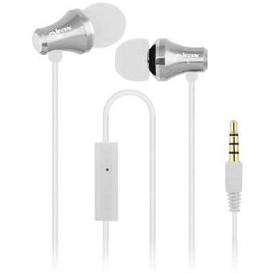 Mirax Sse-3150-b Mirax Sse-3150 Extra Bass Mikrofonlu Metal Kulaklık - Beyaz Kulak İçi Kulaklık