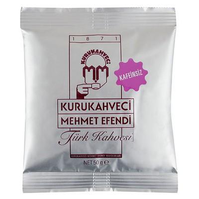 Mehmet Efendi Kurukahveci Türk si Kafeinsiz 50 g Kahve
