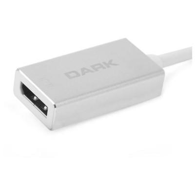 Dark Dk-ac-u31xdp Usb 3.1 Type-c' Den (4k Uhd 30hz) Display Port Dönüştürücü Adaptör Çevirici Adaptör