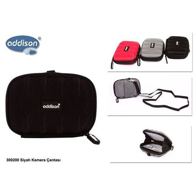 Addison 300200-s 300200 Siyah Kamera Çantası Kamera Aksesuarı