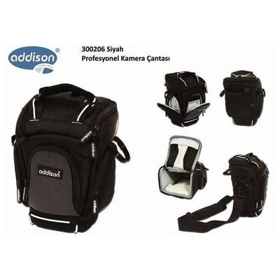 Addison 300206 300206 Siyah Profesyonel Kamera Çantası Kamera Aksesuarı