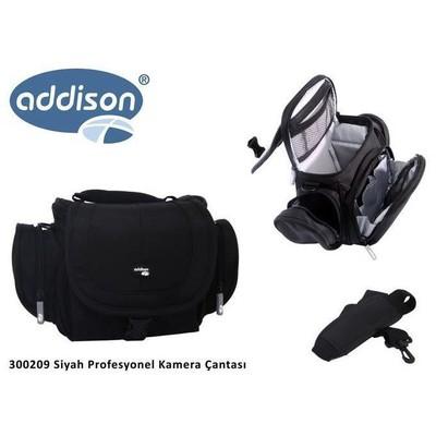 Addison 300209 300209 Siyah Profesyonel Kamera Çantası Kamera Aksesuarı