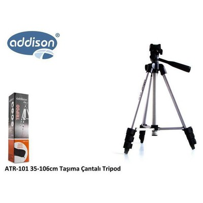 Addison Atr-101 Atr-101 35-106cm Taşıma Çantalı Tripod ( Çanta Hediyeli ) Kamera Aksesuarı