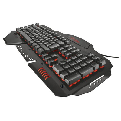 Trust Gaming GXT 850 Metal Oyun Klavyesi (20999)
