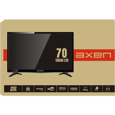 """Axen Traxled028114000 Led 28"""" 70cm Hd 2xhdmı 2xusb Ax28lasv Televizyon"""