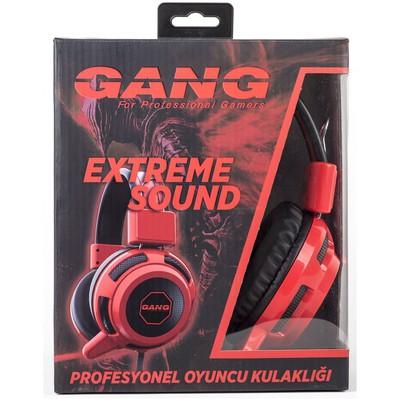 Gang Gh-01 Gh-01 Extreme Sound Mikrofonlu Gamıng Kulaklık Kafa Bantlı Kulaklık