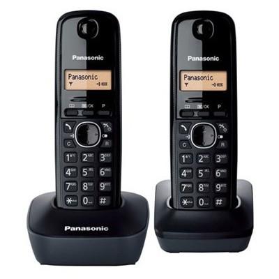 Panasonic Kx-tg1612 Dect Telefon Çift Ahizeli Telsiz Telefon