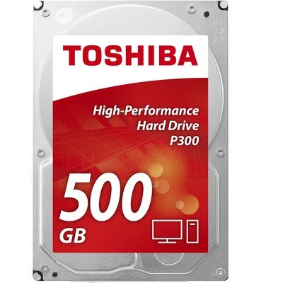 Toshiba P300 500GB High-Performance Hard Disk (HDWD105UZSVA)