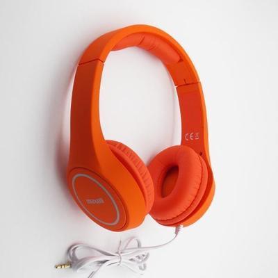 Maxell MXH-HP500 PLAY HEADPHONE TURUNCU 303637.00.CN Kafa Bantlı Kulaklık