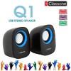 K3001 1+1 Speaker - Siyah / Mavi
