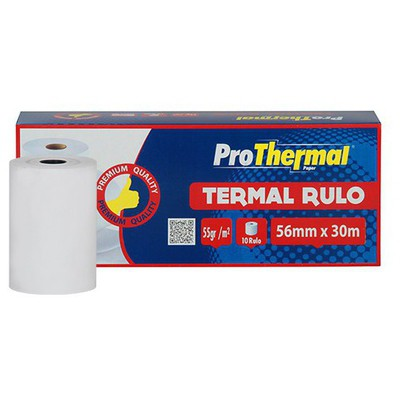 ProThermal Termal Rulo 56 mm x 30 m 10 Adet