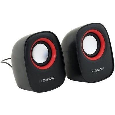 Classone K3000 1+1 Speaker - Siyah / Kırmızı