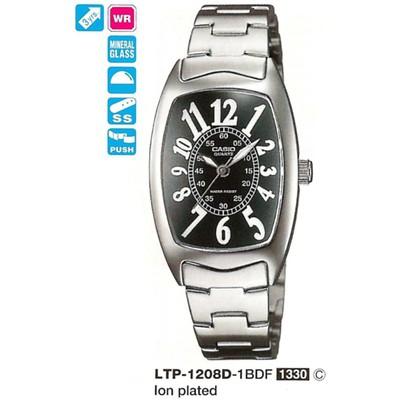 Casio LTP-1208D-1BDF Kadın Kol Saati