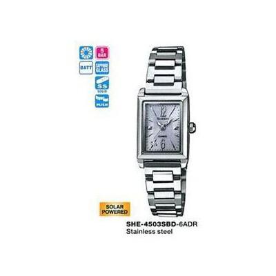 Casio SHE-4503SBD-6ADR Kadın Kol Saati