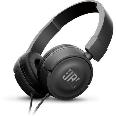 JBL T450 Kafa Bantlı Mikrofonlu Kulaklık - Siyah (JBLT450BLK)