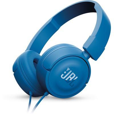 JBL T450 Kulaklık, CT, OE, Mavi Kafa Bantlı Kulaklık