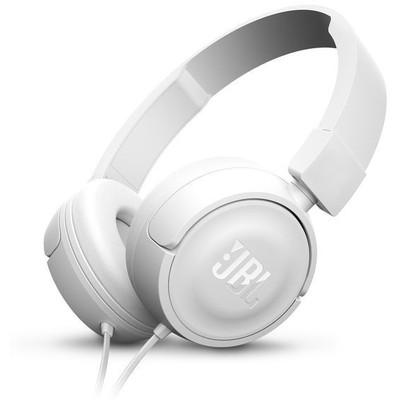 JBL T450 Kafa Bantlı Mikrofonlu Kulaklık - Beyaz (JBLT450WHT)