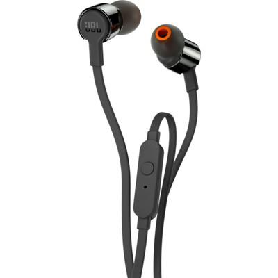 JBL T210, Kulaklık, CT, IE, Siyah Kulak İçi Kulaklık