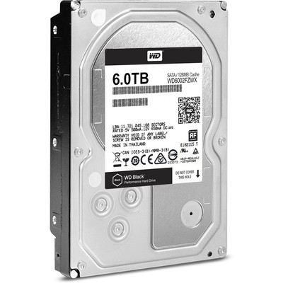 WD Black 6TB Desktop Performans Disk (6002FZWX)