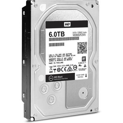 WD Black 6TB Desktop Performans Disk (WD6002FZWX)