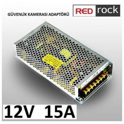 Redrock RRSA12V15A Redrock CCTV 12V 15A ADAPTER Güvenlik Aksesuarları