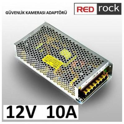 Redrock Rrsa12v10a Redrock Cctv 12v 10a Adapter Güvenlik Aksesuarları