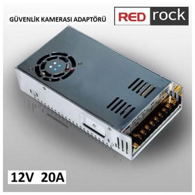 Redrock RRSA12V20A Redrock CCTV 12V 20A ADAPTER Güvenlik Aksesuarları