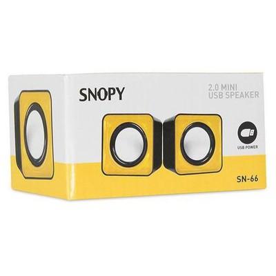 Snopy SN-66 1+1 USB Speaker - Sarı