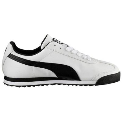 Puma 353572-04 Roma Basic White-Black Erkek Spor Ayakkabısı 35357
