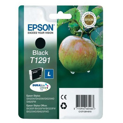 Epson T1291 DURABrite Ultra Siyah Kartuş (C13T12914012)
