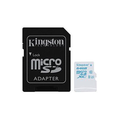 Kingston 64GB Action Camera UHS-I U3 microSD Kart (SDCAC/64GB)