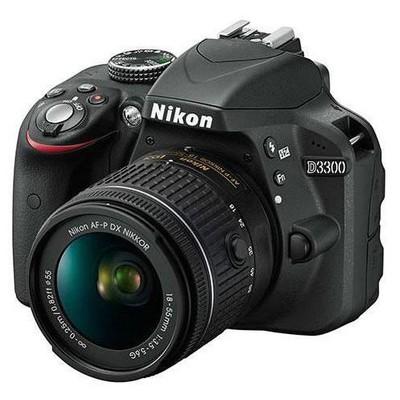 "Nikon 18208946167 Nıkon D3300 18-55 Af-p Non Vr Iı 24.2 Mp 3"" Lcd Ekra Slr Fotoğraf Makinesi"