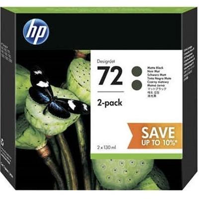 HP P2v33a (72) Mat Siyah 2li Paket 130 Ml Geniş Format Mürekkep Kartuşu