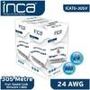 Inca Icat-305v Cat6 305 Metre 24 Awg Gri Kablo Network Kablosu