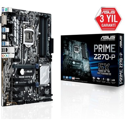 Asus Prime Z270-p Intel Anakart