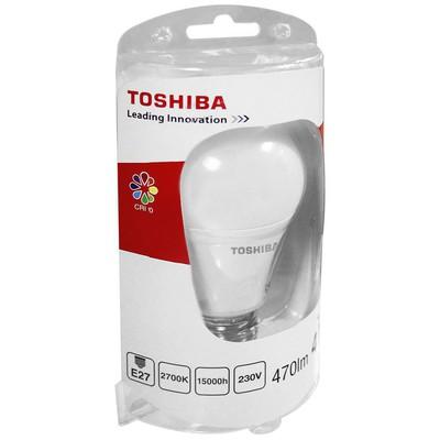 Toshiba Lda00101760081a Toshiba 6.5w (40w) 470lm Standart(e27) 470lm Duylu 230v Sarı Led Lamba Fener & Lamba