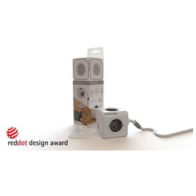 Pratigo PR1402 PowerCube Akım Korumalı 1.5m Kablolu 4+2 USB li Grup Priz Akım Korumalı Priz