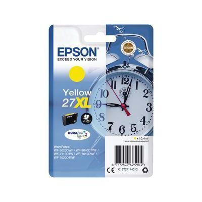 Epson 27XL DURABrite Ultra Sarı Kartuş(C13T27144012)