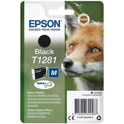 Epson T1281 DURABrite Ultra Siyah Kartuş (C13T12814022)