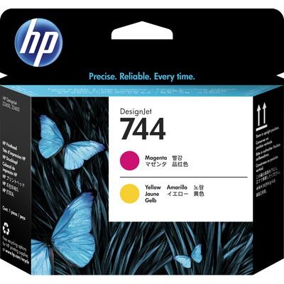HP 744 Magenta & Yellow Printhead Kartuş