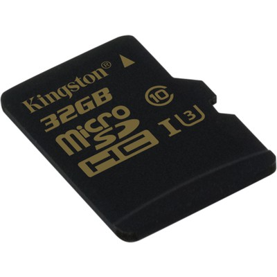 Kingston 32GB Gold UHS-I U3 microSD Kart (SDCG/32GB)