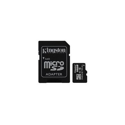 Kingston 16gb Microsdhc Uhs-ı Class 10 Industrial Temp Card + Sd Adapter Micro SD Kart