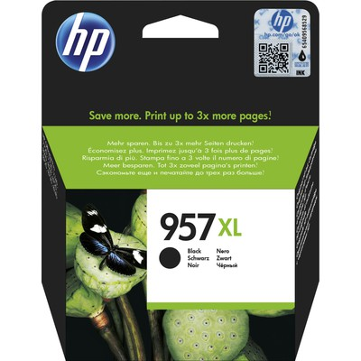 HP L0R40AE 957XL Yüksek Kapasiteli Siyah Kartuş