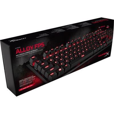 Kingston HyperX Alloy FPS Red Mekanik Oyuncu Klavyesi (HX-KB1RD1-UK-A2)