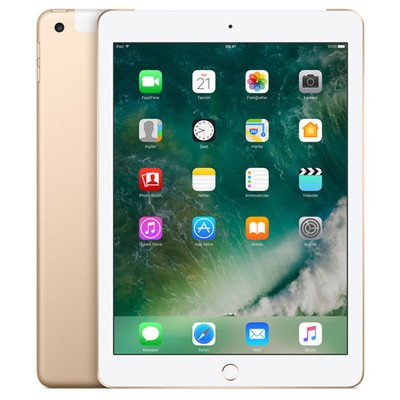 Apple iPad 2017 Wi-Fi + Cellular 128GB Altın (MPG52TU-A)