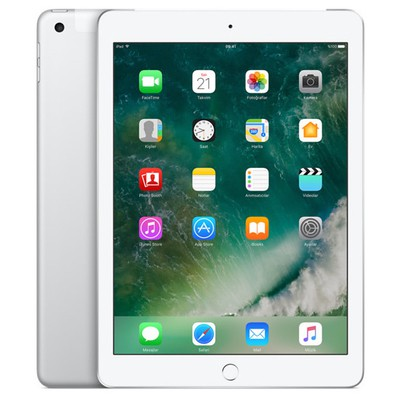 Apple iPad 2017 Wi-Fi+4G 128GB Tablet - Gümüş (MP272TU A)
