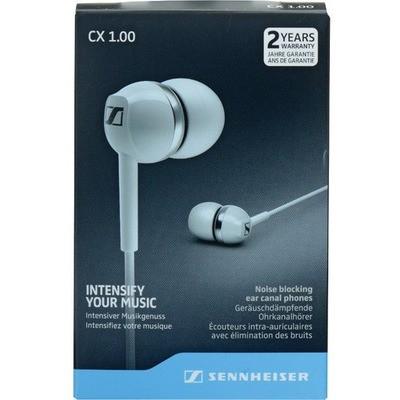 Sennheiser CX 1.00 Beyaz Kulakiçi Silikonlu Kulaklık Kulak İçi Kulaklık